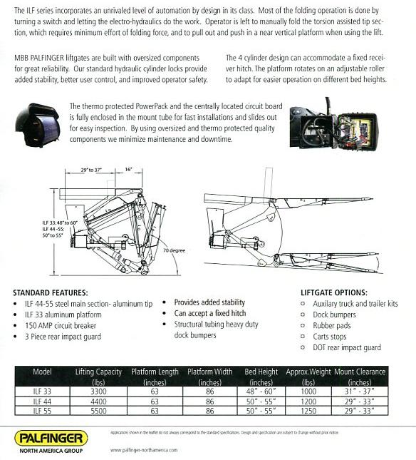 truck lift gate diagrams  parts  auto parts catalog and