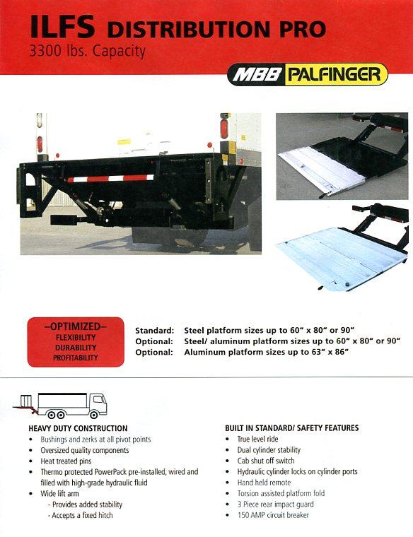 Interlift Lift Gate Ilfs Distribution Pro